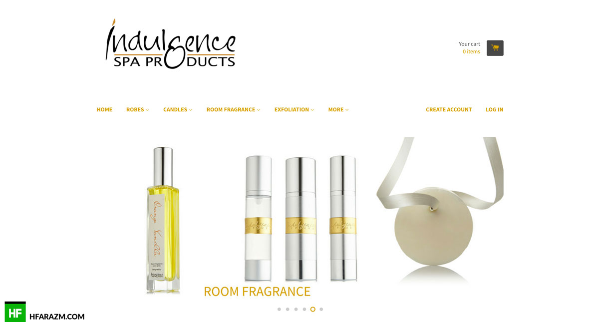 indulgence-spa-home-web-development-seo-portfolio-hfarazm