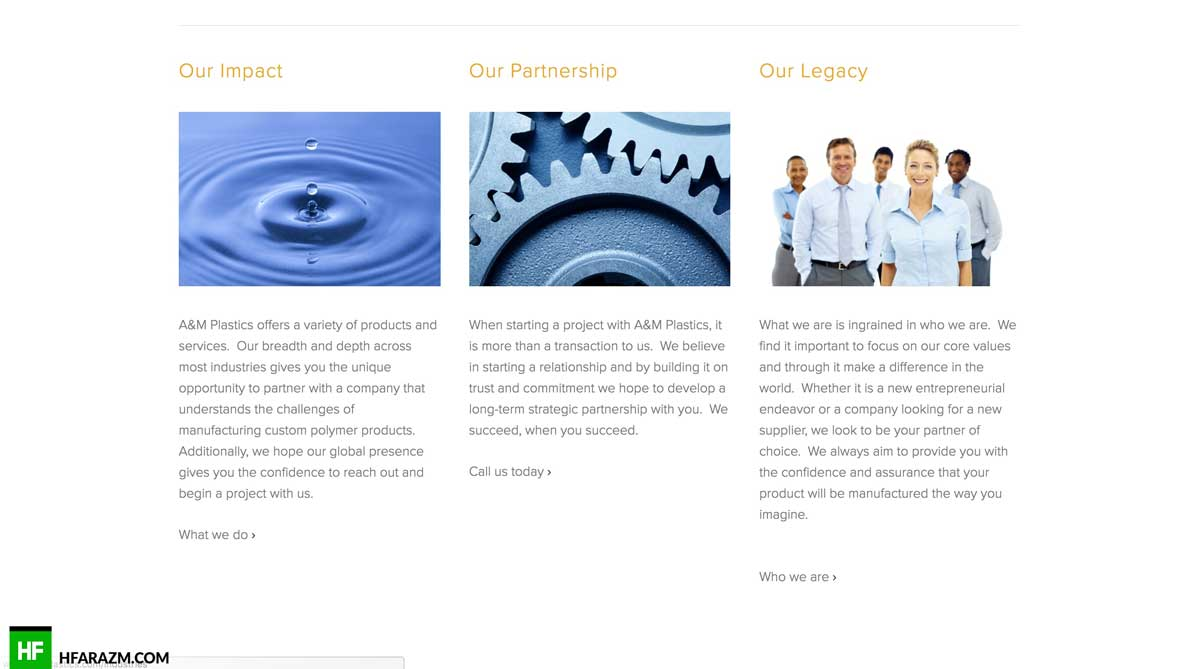 am-plastics-about-page-web-design-development-portfolio-hfarazm