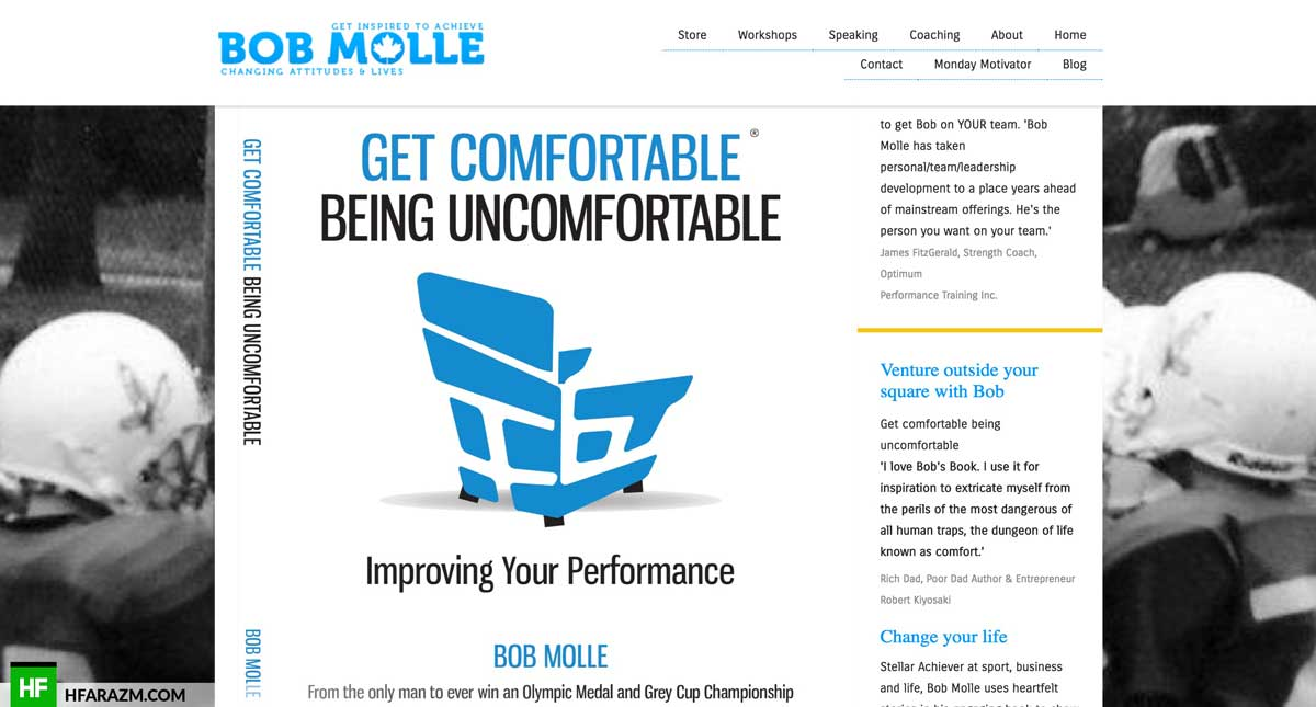 bob-molle-home-section-web-development-portfolio-hfarazm