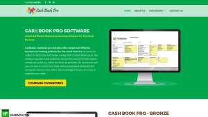 cash-book-pro-home-page-web-optimization-website-review-portfolio-hfarazm