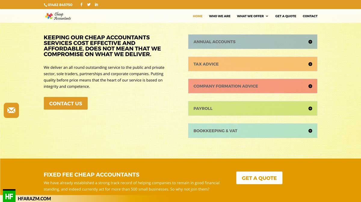 cheap-accountants-footer-section-web-optimization-website-review-portfolio-hfarazm