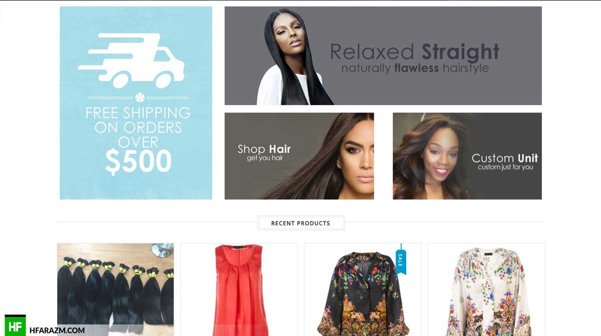 classy-virgin-hair-product-section-web-development-portfolio-hfarazm