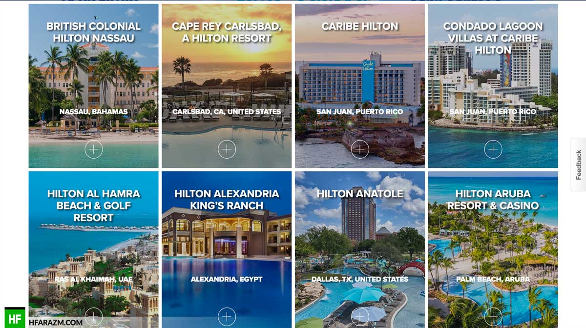 hilton-resorts-page-web-optimization-website-review-portfolio-hfarazm