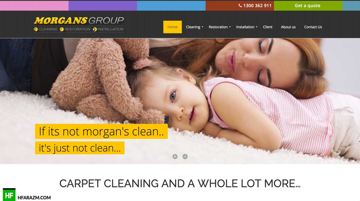 morgans-group-home-page-web-design-development-portfolio-hfarazm