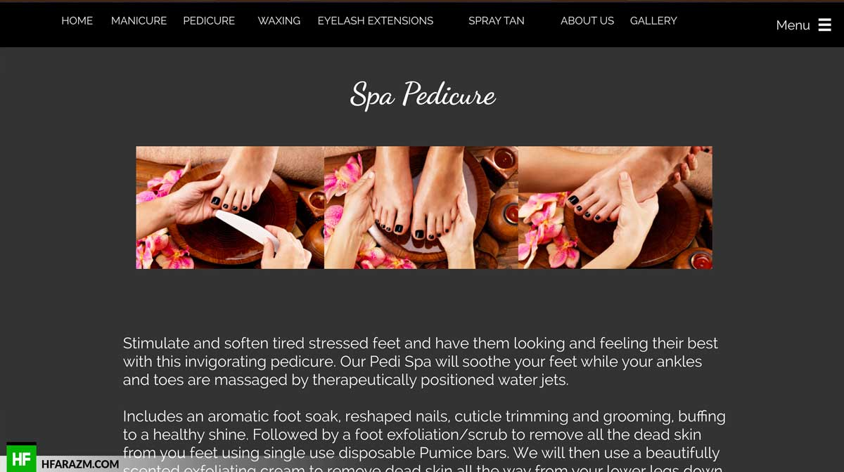 sin-city-pedicure-page-web-design-development-seo-optimization-security-portfolio-hfarazm