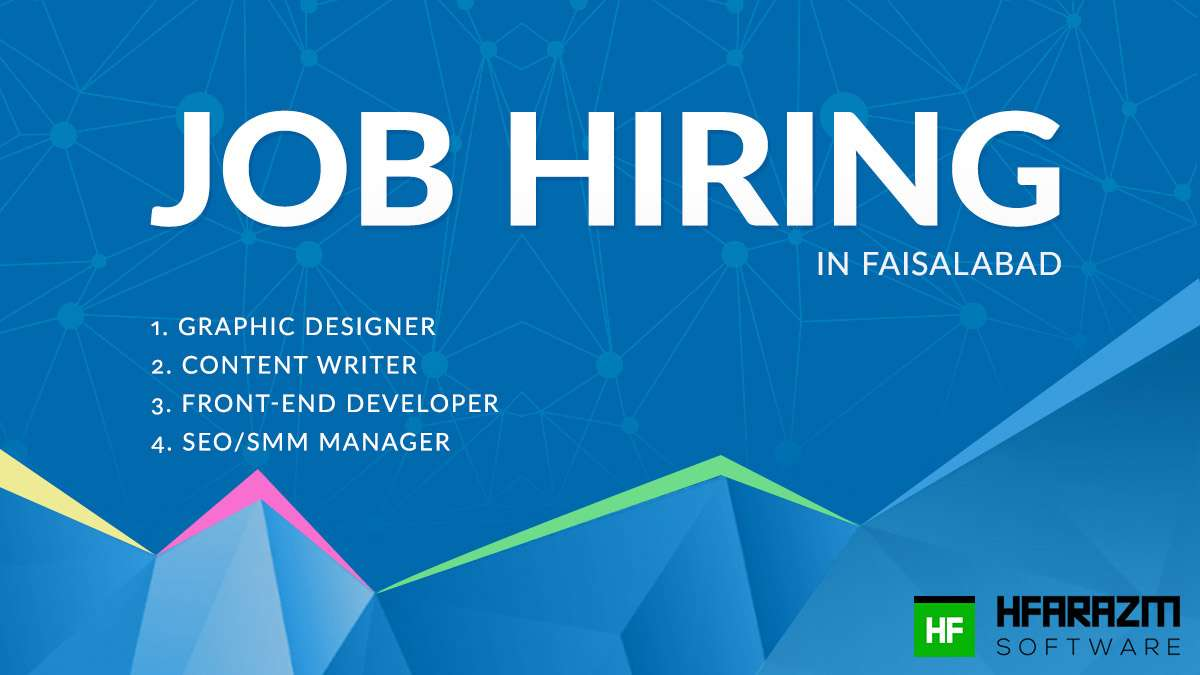 jobs in faisalabad apply online software job in faisalabad graphic designer content writer fron