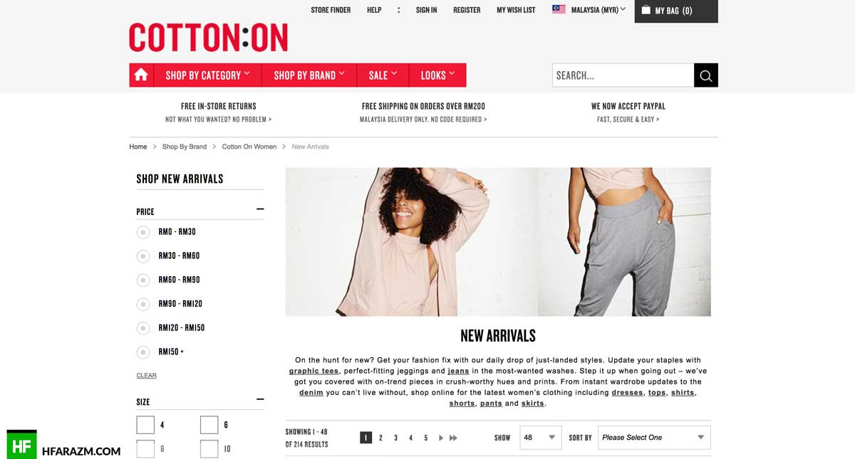 cotton-on-featured-design-development-seo-portfolio-hfarazm