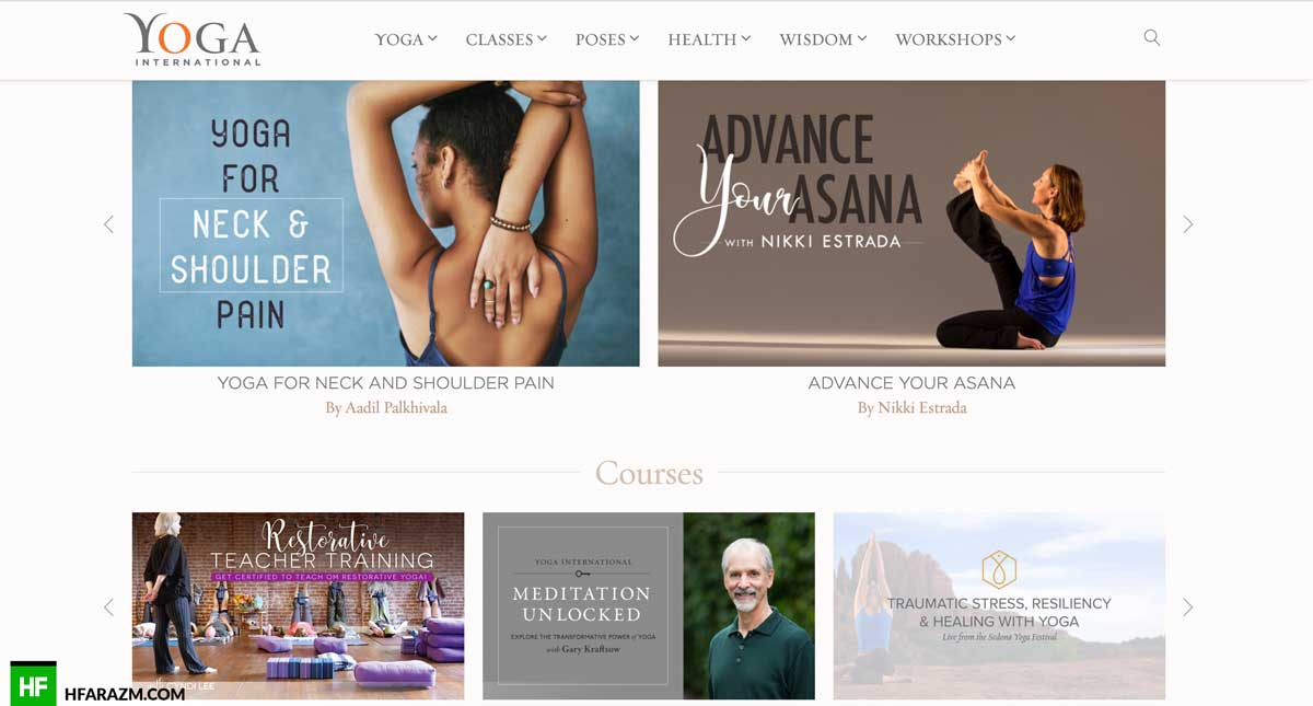 yoga-international-courses-design-development-seo-optimization-security-portfolio-hfarazm