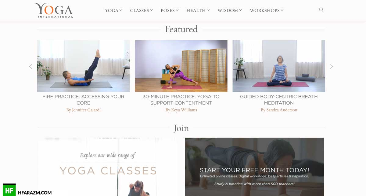 yoga-international-featured-design-development-seo-optimization-security-portfolio-hfarazm