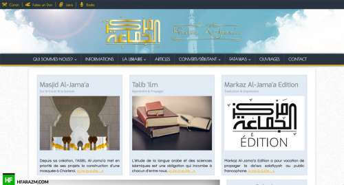 markaz-al-jamaa-home-web-design-development-optimization-seo-security-portfolio-hfarazm