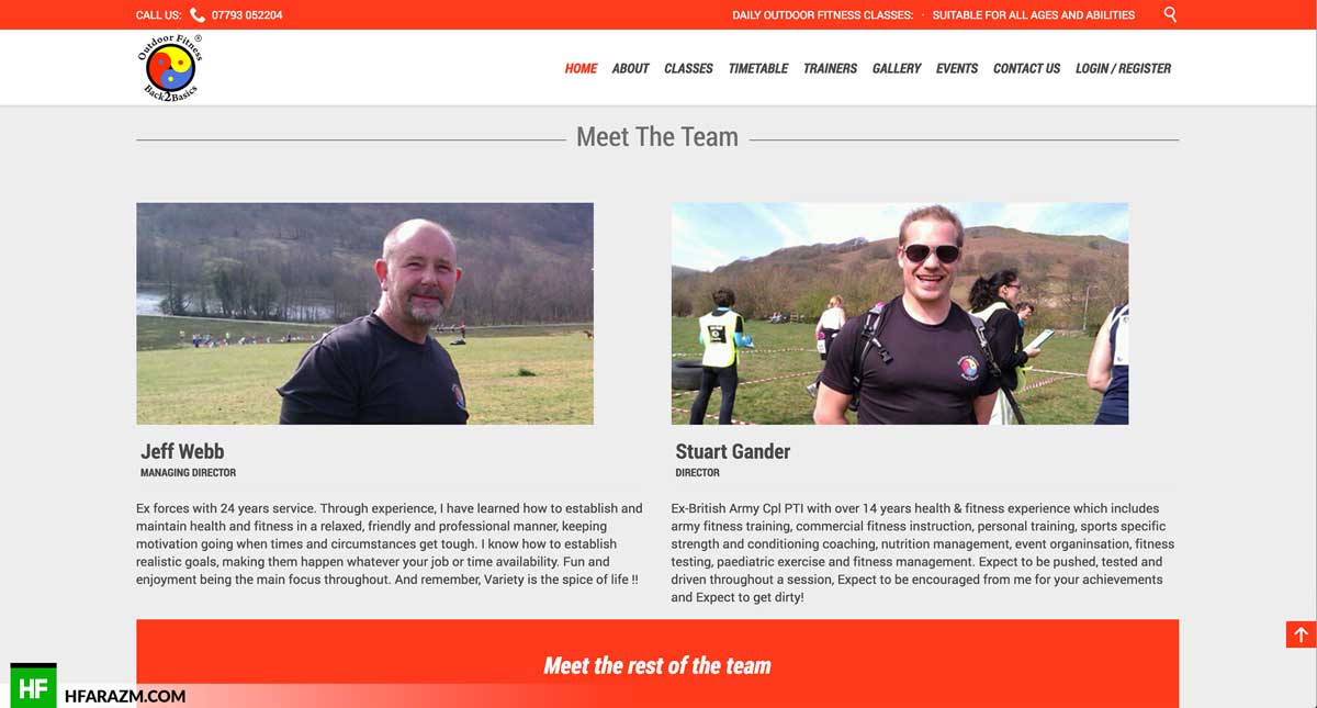outdoor-fitness-team-section-web design-development-portfolio-hfarazm