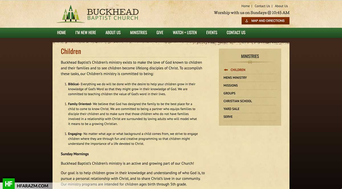 buckhead-baptist-chilren-ministries-page-web-design-development-optimization-portfolio-hfarazm