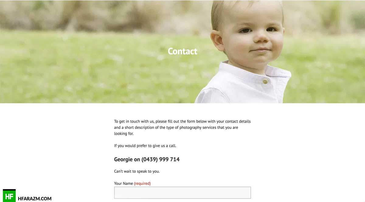 georgina-kate-contact-us-page-web-design-development-portfolio-hfarazm