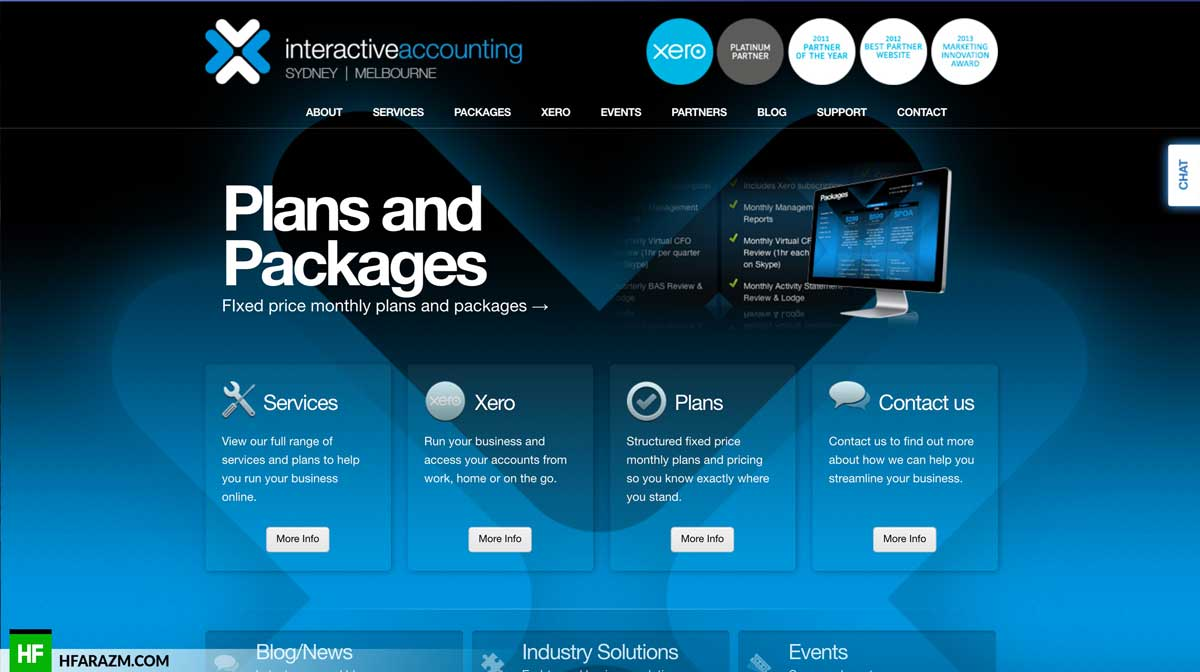 interative-accounting-home-page-web-design-development-optimization-seo-portfolio-hfarazm