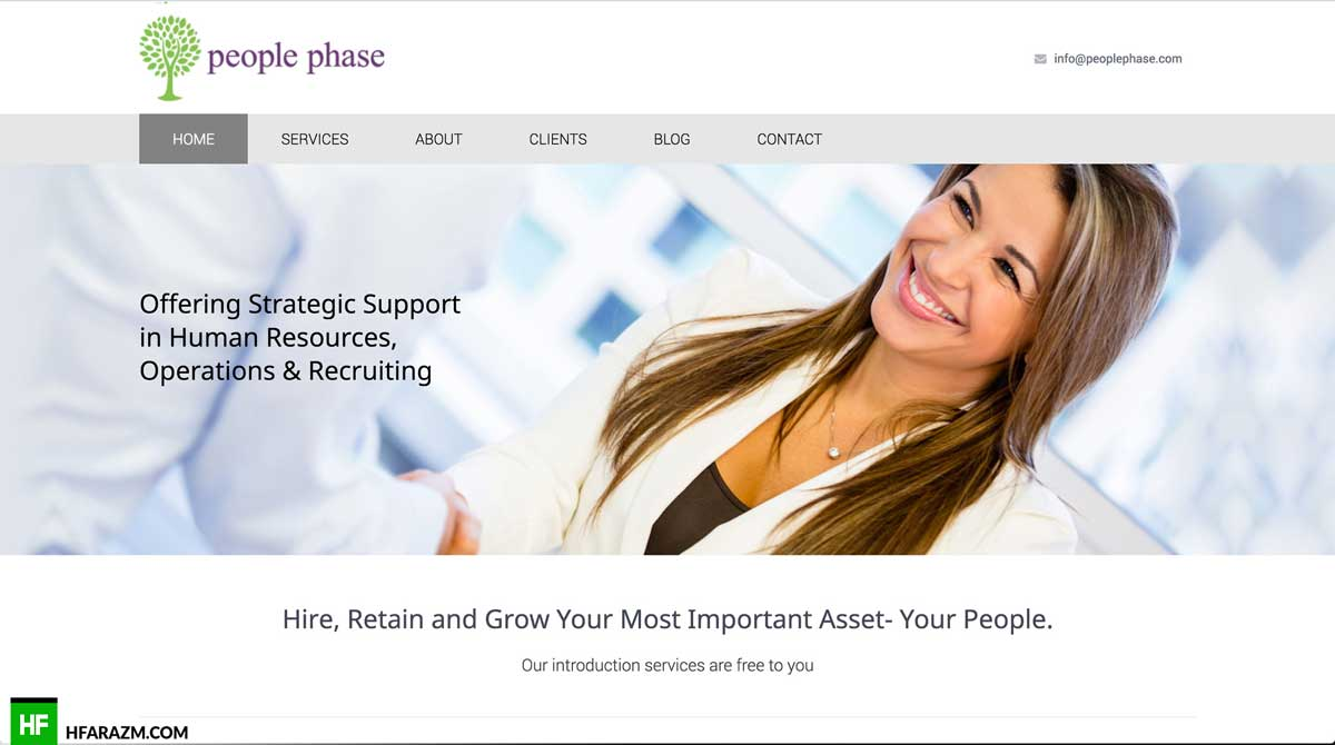people-phase-home-page-web-design-development-portfolio-hfarazm