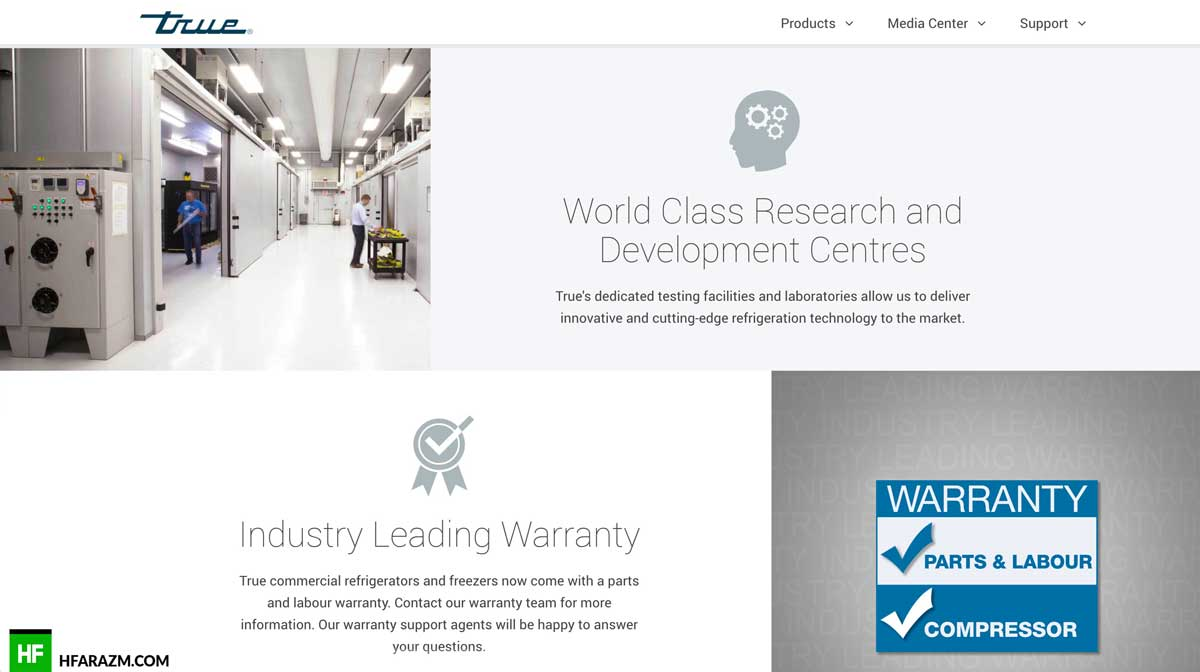 true-manufacturing-emea-home-page-web-design-development-optimization-security-seo-portfolio-hfarazm