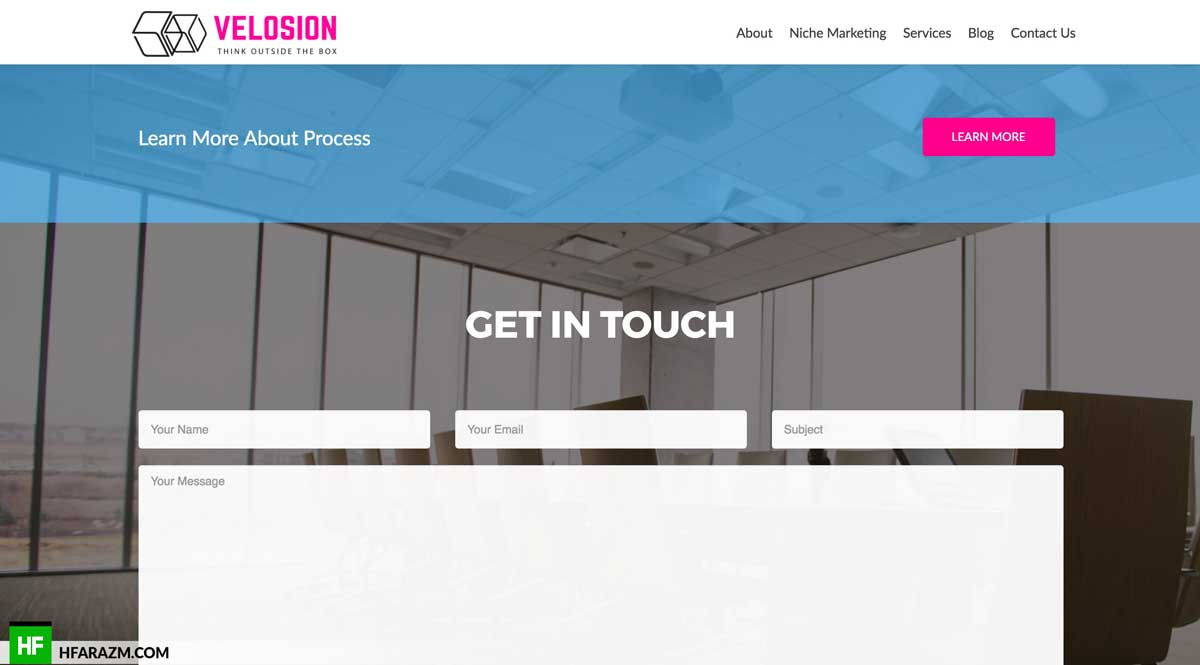 velosion-contact-us-page-web-design-development-seo-optimization-portfolio-hfarazm