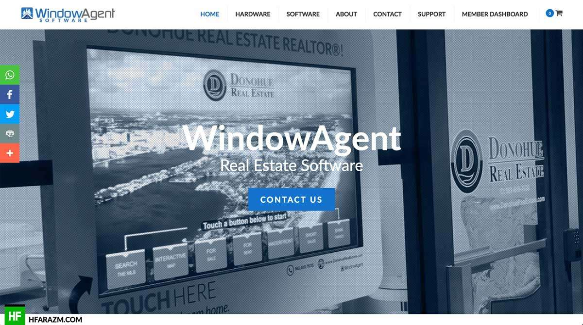 Web design dev optimization portfolio digiday for Windows home page