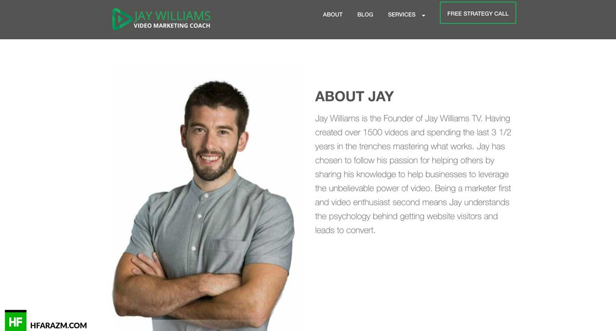 about-page-jay-williams-web-design-development-hfarazm-software-agency