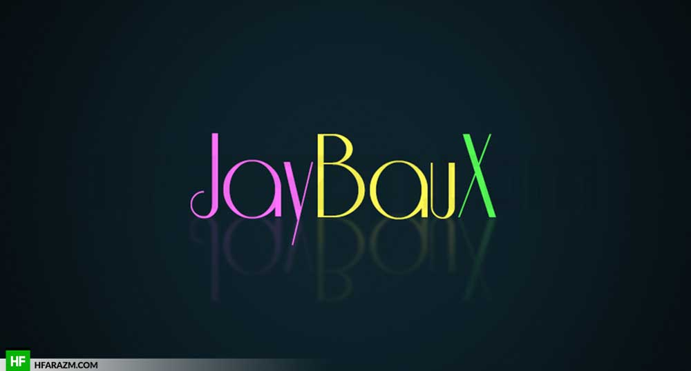 Jay-BauX-rapper-recording-artist-neon-colors-logo-portfolio-design-agency-hfarazm-software