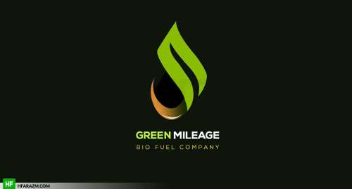 green-milage-bio-fuel-company-logo-portfolio-design-agency-hfarazm-software