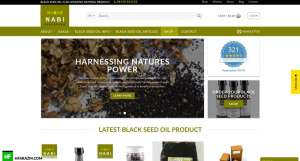 nabi-black-seed-oil-home-page-web-design-development-seo-security-speed-optimization-hfarazm-software-agency-portfoilo