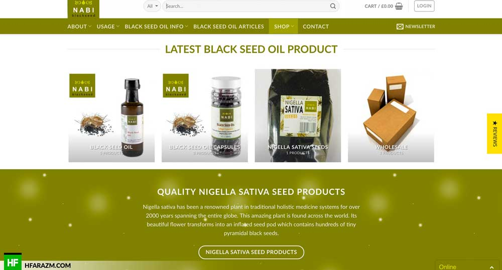 nabi-black-seed-oil-product-category-web-design-development-seo-security-speed-optimization-hfarazm-software-agency-portfoilo