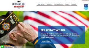 veterans-aide-home-page-web-design-seo-hfarazm-software-portfolio-design-agency