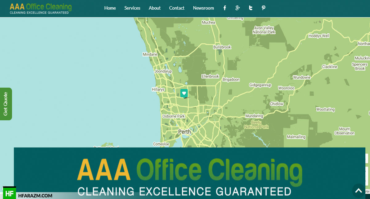 aaa-office-cleaning-maps-web-design-portfolio-Hafrazm