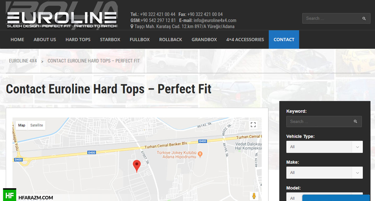 euro-line-4x4-contact-us-web-design-portfolio-Hafrazm
