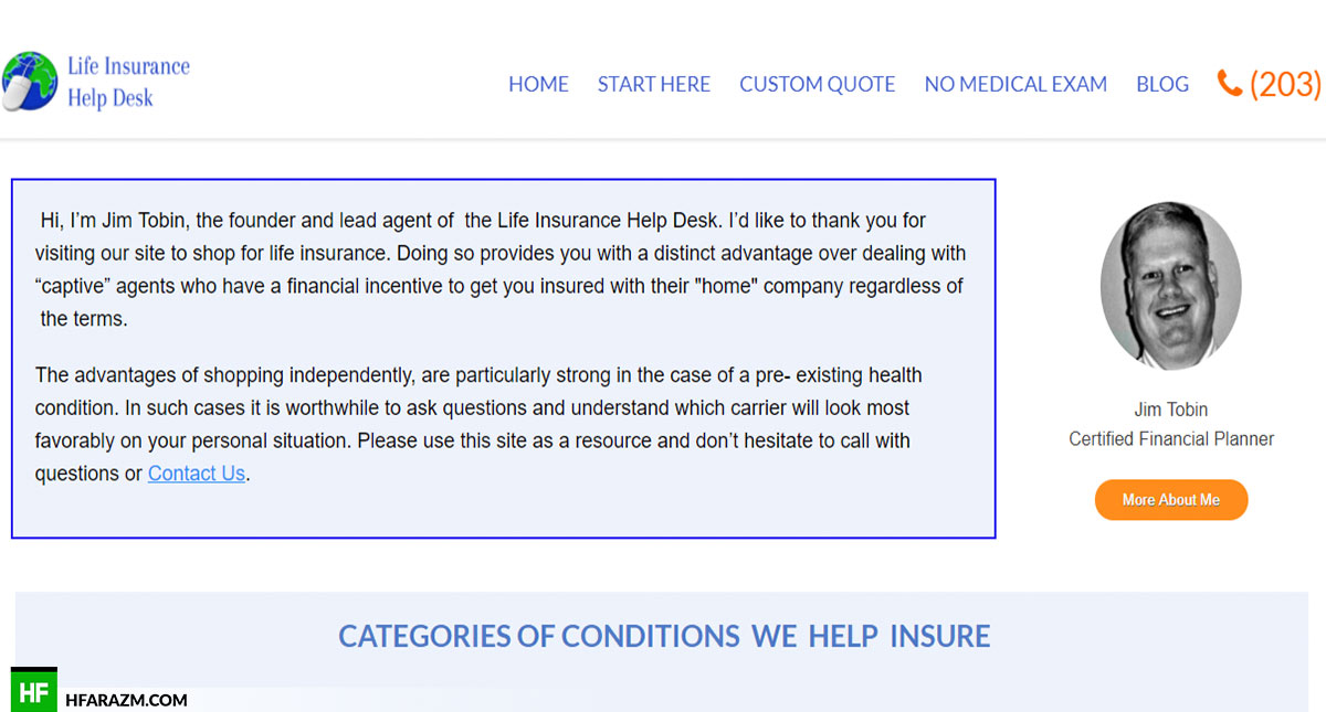 life-insurance-help-desk-about-me-web-design-portfolio-Hafrazm