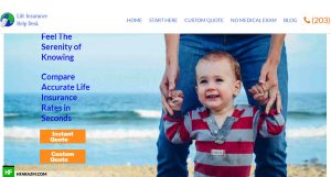 life-insurance-help-desk-home-page-web-design-portfolio-Hafrazm