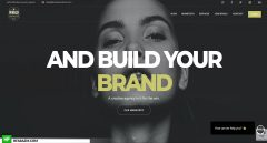 Rivals Creative Homepage Web Design and Development by Hfarazm Software