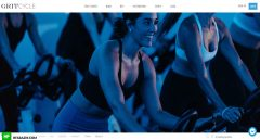 GritCycle Home Page Web Design and Development by Hfarazm Software